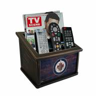 Winnipeg Jets Distressed Team Color Media Organizer