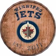 """Winnipeg Jets Established Date 24"""" Barrel Top"""