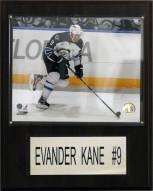 "Winnipeg Jets Evander Kane 12"" x 15"" Player Plaque"