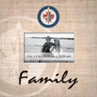 Winnipeg Jets Family Picture Frame