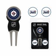 Winnipeg Jets Golf Divot Tool Pack