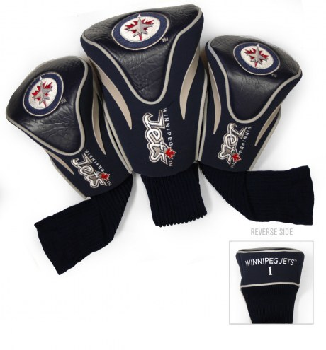 Winnipeg Jets Golf Headcovers - 3 Pack