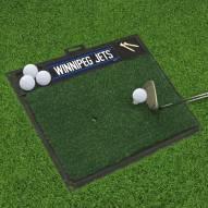 Winnipeg Jets Golf Hitting Mat