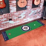Winnipeg Jets Golf Putting Green Mat