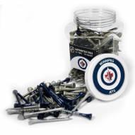 Winnipeg Jets 175 Golf Tee Jar