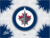 Winnipeg Jets Logo Canvas Print