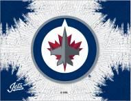 Winnipeg Jets Logo Canvas Print