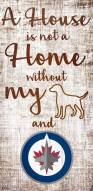 Winnipeg Jets House is Not a Home Sign