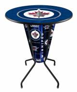 Winnipeg Jets Indoor/Outdoor Lighted Pub Table