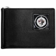 Winnipeg Jets Leather Bill Clip Wallet