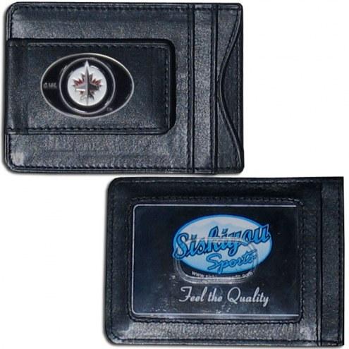Winnipeg Jets Leather Cash & Cardholder