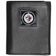 Winnipeg Jets Leather Tri-fold Wallet