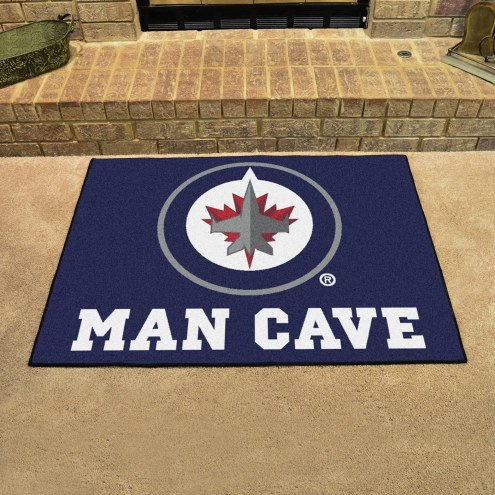 Winnipeg Jets Man Cave All-Star Rug