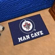 Winnipeg Jets Man Cave Starter Mat