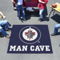 Winnipeg Jets Man Cave Tailgate Mat
