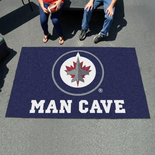 Winnipeg Jets Man Cave Ulti-Mat Rug