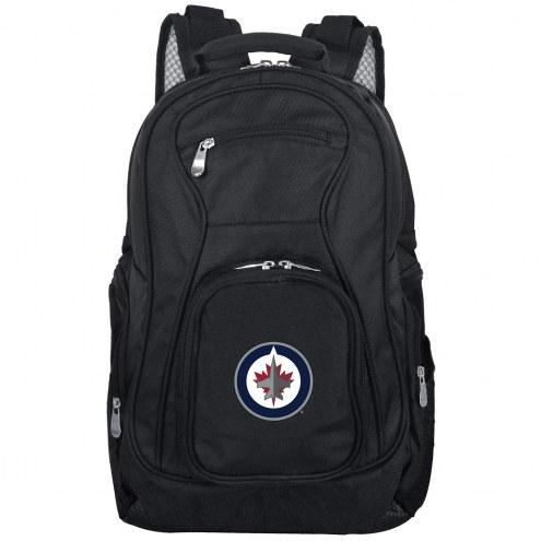 Winnipeg Jets Laptop Travel Backpack