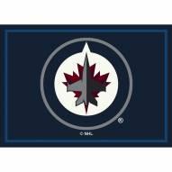 Winnipeg Jets NHL Team Spirit Area Rug