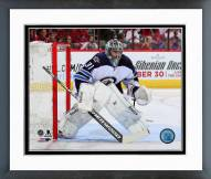Winnipeg Jets Ondrej Pavelec Action Framed Photo