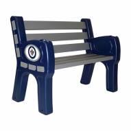 Winnipeg Jets Park Bench