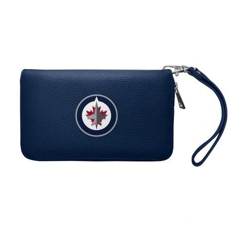 Winnipeg Jets Pebble Organizer Wallet