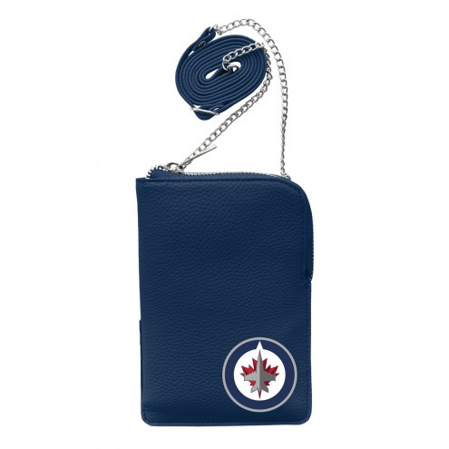 Winnipeg Jets Pebble Smart Purse