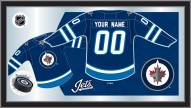 Winnipeg Jets Personalized Jersey Mirror