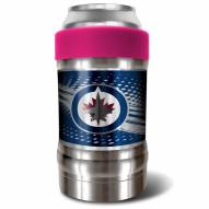 Winnipeg Jets Pink 12 oz. Locker Vacuum Insulated Can Holder