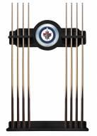 Winnipeg Jets Pool Cue Rack