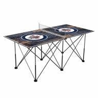 Winnipeg Jets Pop Up 6' Ping Pong Table