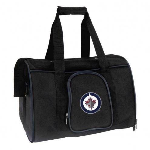 Winnipeg Jets Premium Pet Carrier Bag