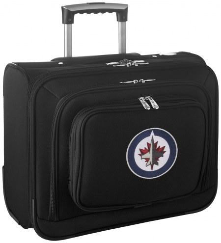 Winnipeg Jets Rolling Laptop Overnighter Bag