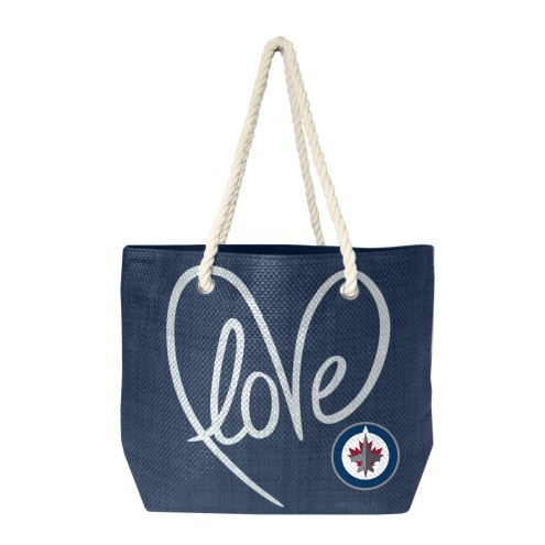 Winnipeg Jets Rope Tote