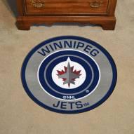 Winnipeg Jets Rounded Mat