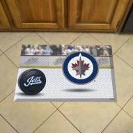 Winnipeg Jets Scraper Door Mat