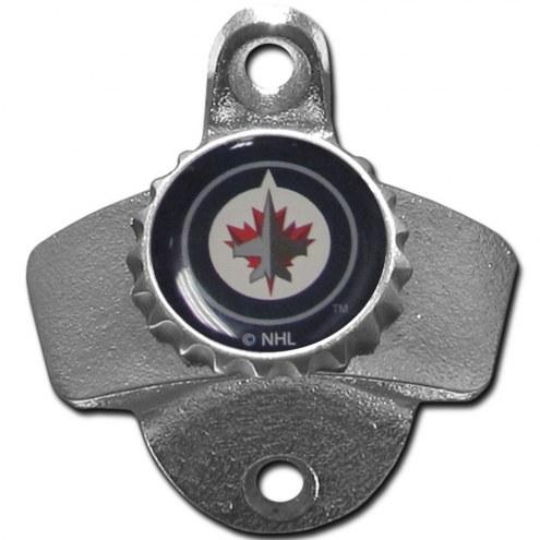 Winnipeg Jets Wall Mounted Bottle Opener