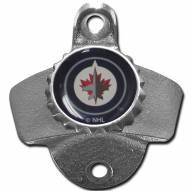 Winnipeg Jets Wall Mounted Bottle Opener