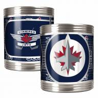 Winnipeg Jets Stainless Steel Hi-Def Coozie Set