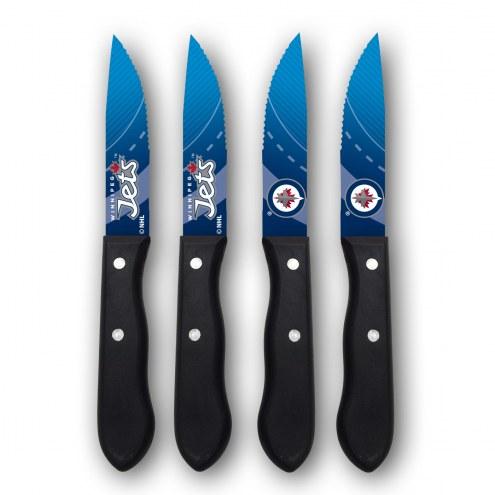 Winnipeg Jets Steak Knives