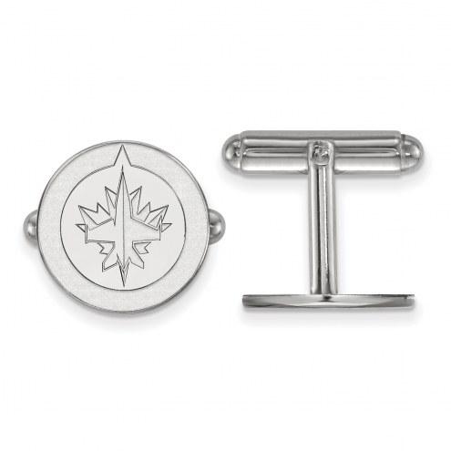 Winnipeg Jets Sterling Silver Cuff Links