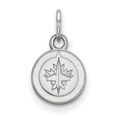 Winnipeg Jets Sterling Silver Extra Small Pendant