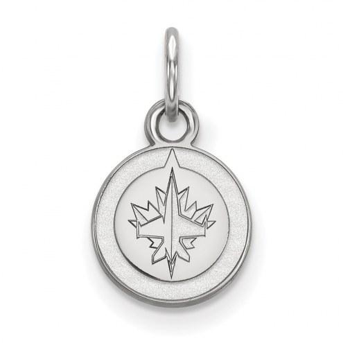 Winnipeg Jets Sterling Silver Extra Small Pendant