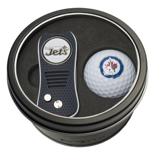 Winnipeg Jets Switchfix Golf Divot Tool & Ball