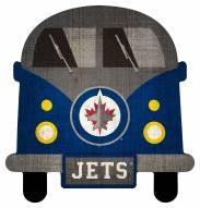 Winnipeg Jets Team Bus Sign