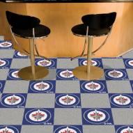 Winnipeg Jets Team Carpet Tiles