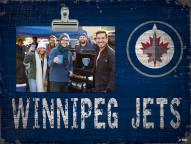 Winnipeg Jets Team Name Clip Frame