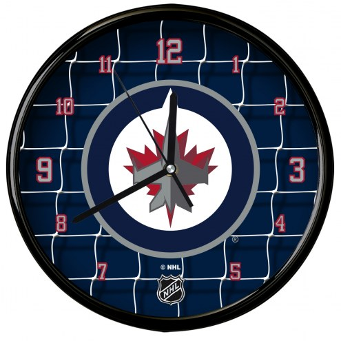 Winnipeg Jets Team Net Clock