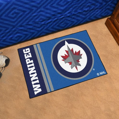 Winnipeg Jets Uniform Inspired Starter Rug