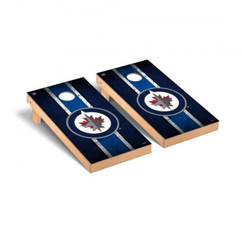 Winnipeg Jets Vintage Cornhole Game Set
