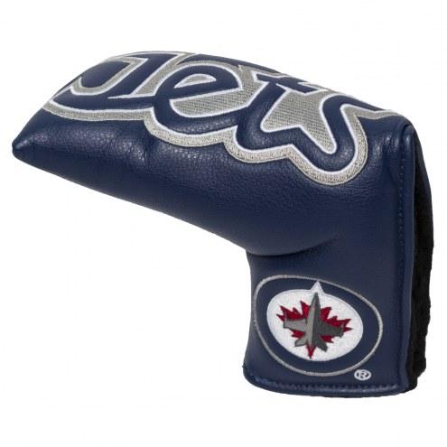 Winnipeg Jets Vintage Golf Blade Putter Cover